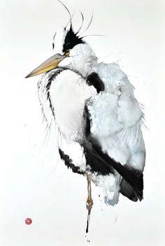 Heron by Karl Mårtens