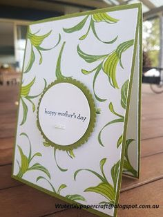 Waterlily Papercraft: Stampin' Up! Peaceful Reflection