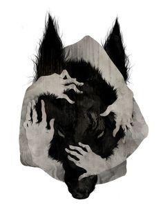 """Wild Dog"" by Corinne Reid."