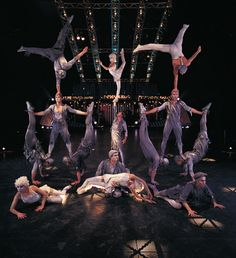 The amazing banquine act from Quidam. Such an energetic act!