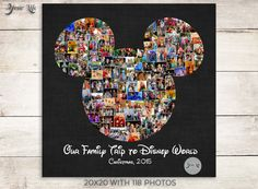 Remember your Disney Family Vacation by displaying all of your favorite Disney photographs! Display your family vacation photos every year in Disney World Trip, Disney Vacations, Disney Trips, Best Vacations, Disney Photo Album, Focus Images, Personalized Gifts For Mom, Disney Scrapbook, Disney Family