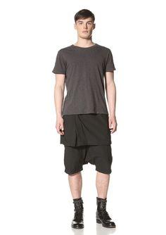 50% OFF Rick Owens DRKSHDW Men's Skirt Pod (Dd Black)