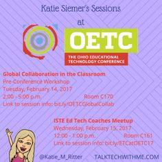 My #OETC17 Sessions