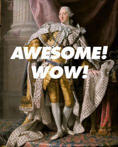 George III Hamilton Musical #yayhamlet