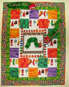 Willow Creek Quilting & Gifts: Very  Hungry  Caterpillar
