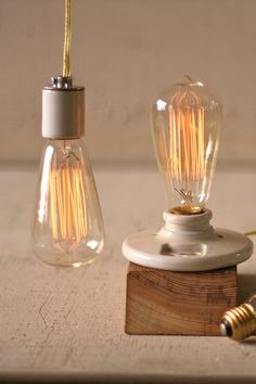 Kalalou Vintage 40W Light Bulb - With their soft glow and beautiful tangle of filaments, these Edison light bulbs are the perfect companion to any of our vintage wire pendant lamps