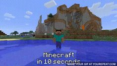 minecraft animated gif was created on Sunday of December 2013 at PM with a length of 10 seconds Minecraft Logic, How To Play Minecraft, Minecraft Party, Minecraft Stuff, Best Games, Fun Games, Minecraft Creations, Doja Cat, Gifs