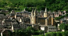 Conques, Aveyron. France.