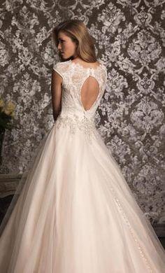 Allure Bridals 9022, find it on PreOwnedWeddingDresses.com