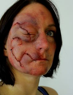 Prosthetic makeup by Rhonda Causton(Reel Twisted FX)