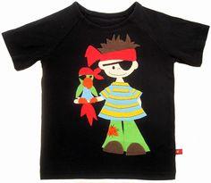 Ein Piraten Shirt für einen Piratengeburtstag.  Nach Vorlage von Janeas World