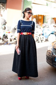 This is soooo cute...I think I'd choice a different textured skirt..but otherwise ISEEITONME!