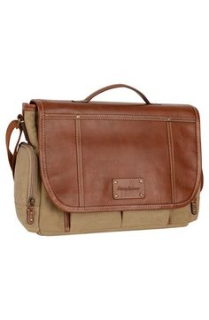 Tommy+Bahama+Canvas+&+Leather+Messenger+Bag+available+at+#Nordstrom