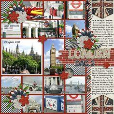Londen Dag 3 - Scrapbook.com