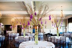 tall centerpieces    (image by Cory Ryan Photography)