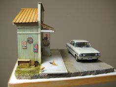 Tanishige Store 1/25 Scale Model Diorama