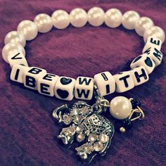 Vibe with me Kandi Bracelet by KandiKweens on Etsy