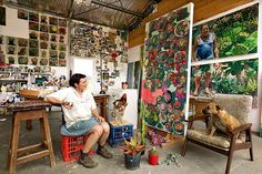 Lucy Culliton, Hartley, New South Wales, 2004.      With Dog and Chicken. Yes.