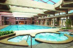 Hyatt Lodge at McDonald's Campus...beautiful pool!!