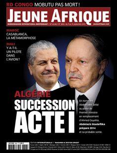 La couverture de Jeune Afrique le 9 Septembre 2012