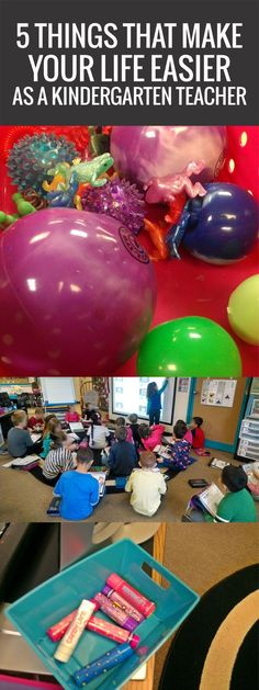 5 Things That Make Your Life Easier as a Kindergarten Teacher - love this list
