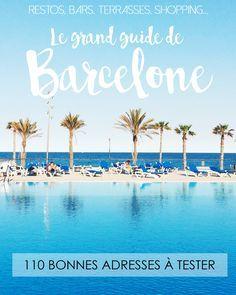 110 bonnes adresses à Barcelone // City Guide sur le blog Le Cocotier Doré