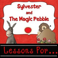 Sylvester and the Magic Pebble by William Steig Guided Reading Lesson Plans, Higher Level Thinking Skills, Whole and Small Group Instruction Suggestions, Center Activities, Worksheets, Writing Ideas, Prompts and MORE!Perfect for 2nd and 3rd grades and high 1st graders.This product is full of ideas to use with one of the classics.