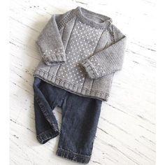 Baby round neck, side opening sweater Knitting pattern by OGE Knitwear Designs | Knitting Patterns | LoveKnitting