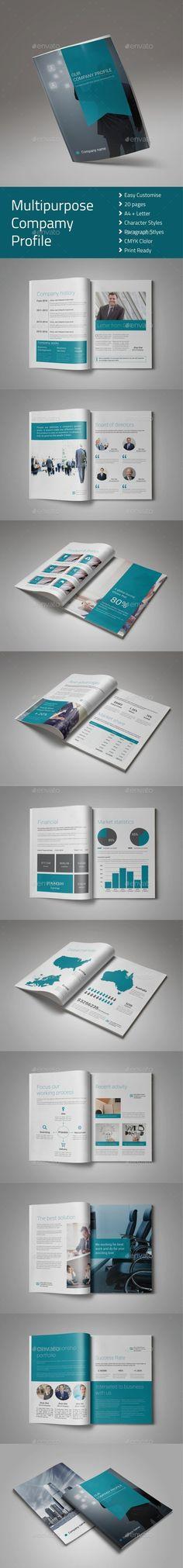 Creative Agency Square Portfolio Brochure Template Indesign Indd