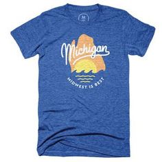 The Great Mitten State Vintage Royal (Men's)