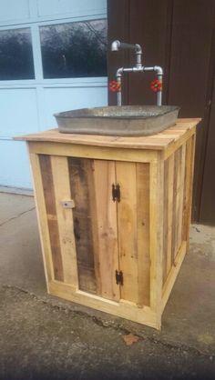 pallet wood wash tub sink more wash tub sink wash tubs wood wash ...
