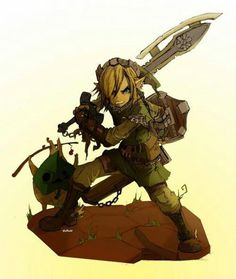 Monster hunter and link