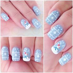 #nail #nails #Christmas #nailart