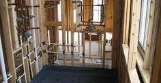 Image result for bathroom construction Home Kitchens, Construction, House Design, Bathroom, Furniture, Home Decor, Image, Building, Washroom
