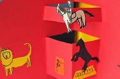 """atelier pour enfants: Atelier """"Cirque pop-up"""" à La petite école des Trois Ourses"""