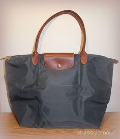 Longchamp 'Le Pliage - Large' - New Navy $110  DressGlamour.com