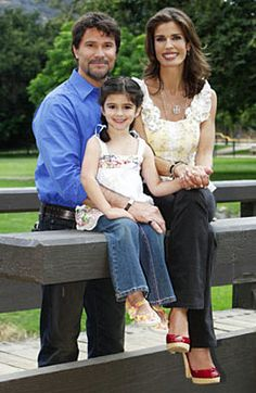Bo,Hope and daughter,   -  NBC's Days of Our Lives