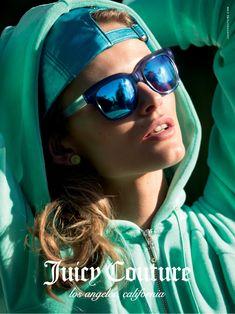 Juicy Couture весна-лето 2015 Эдита Вилкевичуте, Магазин Очков Ray Ban,  Зеркальные Солнечные 96a6ff7a257