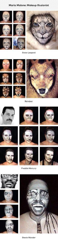 Maquillaje leo