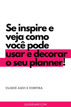 Meu Planner em Janeiro Check Up, Fotos Do Instagram, Planner, Boarding Pass, Have Faith, January, Day Planners