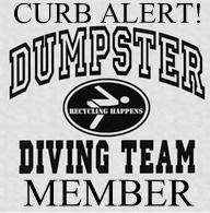 Le Comprehensive Guide to Dumpster Diving Part Un. This is the cutest 'guide' to dumpster diving. Had to pin it. It's an art form! Dumpster Diva, Roadside Rescue, Diving Quotes, Do It Yourself Furniture, And So It Begins, Refurbished Furniture, Furniture Redo, Painted Furniture, Furniture Ideas