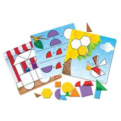 Great fun for learning through play! Shapes Don't Bug Me™ Geometry Activity Set from Learning Resources #halfterm
