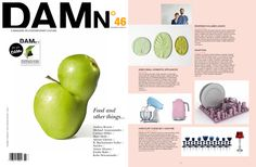 Reversed Volumes Leaves in DAMn Magazine FOOD special