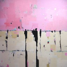 The Home of Bambou, Geoffrey Johnson Amazing Paintings, Amazing Art, Pink Abstract, Abstract Art, Figure Painting, Painting & Drawing, Modern Art, Contemporary Art, Art Et Illustration