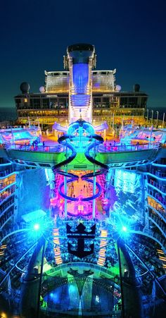 Harmony of the Seas | Forget star gazing. Experience the bright nights and adventure lights on the world's biggest ship, brought to you exclusively by Royal Caribbean, and set to dock in the USA for the first time on November 8th.