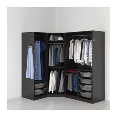 PAX Garderobeskap - 196/146x60x201 cm - IKEA