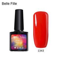 10ml UV Nail Gel Polish vernis semi permanent Base Top Coat Soak-off lacquer Professional nagellack Nail Art Bling manicure