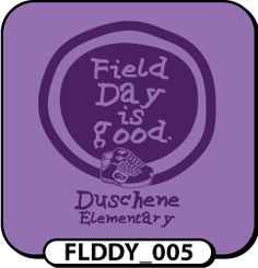Let us customize this Life is Good themed field day t-shirt design for you! Single color designs are great if you want to stretch your dollar and include sports bottles in your order!