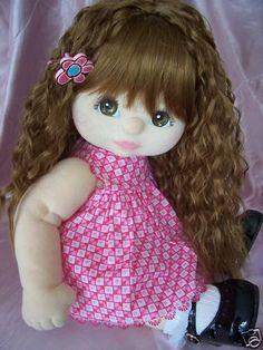 Great for Nursery or Kid/'s bedroom OOAK Handmade doll GIRAFFE BRAND NEW.