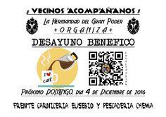 Hermandad del Gran Poder de Almería: DÍA 4 DE DICIEMBRE, DOMINGO, DESAYUNO BENÉFICO FRE...